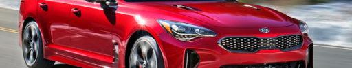 Kia představila zbrusu nový model Stinger s šestiválcem a pohonem zadních kol