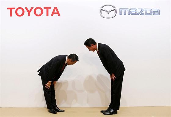 Toyota a Mazda oznámili nové partnerství