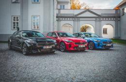 Prémiové Gran Turismo Kia Stinger vstupuje na český trh
