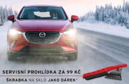 Zimní servisní akce Mazda