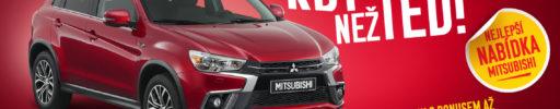 Mitsubishi ASX již od 385 000 Kč