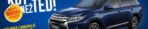 Mitsubishi Outlander již od 554 900 Kč