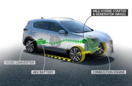 Zcela nový naftový Mild-hybrid Kia s48 V elektromotorem