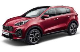 Facelift SUV Kia Sportage přichází s řadou novinek
