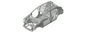 Karoserie Mitsubishi Eclipse Cross dbá na bezpečnost