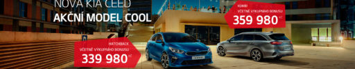 Nová Kia Ceed – akční model COOL