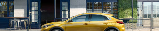 Kia XCeed: zcela nový crossover ve stylu kupé