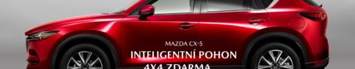 Mazda CX-5 s inteligentním pohonem 4×4 zdarma