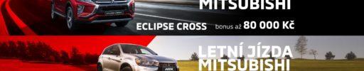 Letní jízda Mitsubishi – DÍKY MITSUBISHI ZA KVALITNÍ SUV