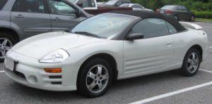 Mitsubishi Eclipse kabriolet