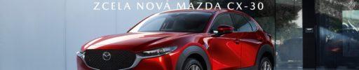 Zcela nová Mazda CX-30. Kompaktní crossover nové generace.