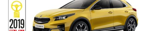 Nová Kia XCeed získala ocenění Golden Steering Wheel