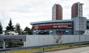 Rekonstrukce showroomu Mitsubishi a Kia 2020