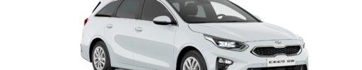 Operativní leasing na vozy Kia Ceed a Sportage