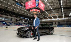 KIA uzavřela partnerství s hokejovou legendou Jaromírem Jágrem