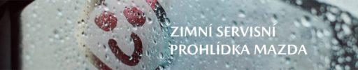 Zimní servisní prohlídka Mazda jen za 199 Kč