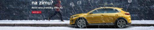 Připravte své auto Kia na zimu